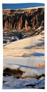 Dillon Pinnacles Sunset Bath Towel
