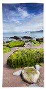 Dingle Coastline Bath Towel
