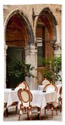 Dinner Tables In Venice Bath Towel