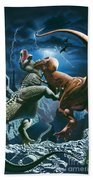 Dinosaur Canyon Bath Towel