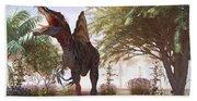 Dinosaur Spinosaurus Bath Towel