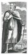 Diogenes Of Sinope, Ancient Greek Bath Towel