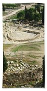 Dionysus Amphitheater Bath Towel