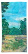 Dirt Road Near Rock Castle Gorge Bath Towel