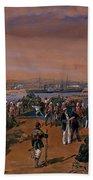 Disembarkation - Kerch, 24 May 1855 Bath Towel