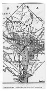 District Of Columbia, 1801 Bath Towel
