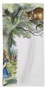 Dodgson: Alice, 1865 Bath Towel