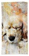 Dog 391-08-13 Marucii Bath Towel