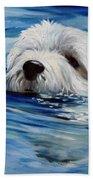 Doggie Paddle Bath Towel