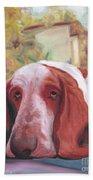 Dog's Portrait No 1 Bath Towel