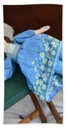 Doll And Camp Chairs 1800s Bath Towel
