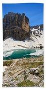 Dolomites - Pisciadu' Peak Bath Towel