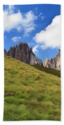 Dolomites On Summer Bath Towel