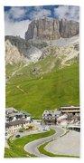 Dolomiti - Pordoi Pass Bath Towel