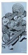 Doodle - 02 Bath Towel