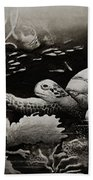 Doomed Sea Life Bath Towel