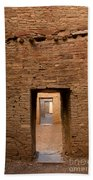Doorways In Pueblo Bonito Bath Towel
