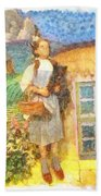 Dorothy And Toto  Bath Towel