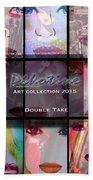 Double Take Art Collection Bath Towel