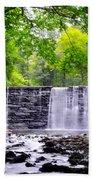 Dove Lake Waterfall At Gladwyne Bath Towel