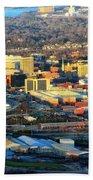 Downtown Chattanooga  Bath Towel