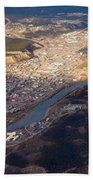 Downtown Whitehorse Yukon Territory Canada Bath Towel