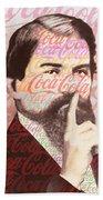 Dr. John Pemberton Inventor Of Coca-cola Bath Towel