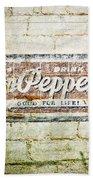 Dr Pepper-good For Life Bath Towel