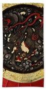 Dragon At The Senso-ji Temple Bath Towel