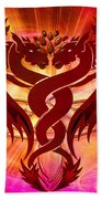 Dragon Duel Series 15 Bath Towel