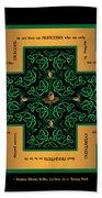 Dragon Egg Celtic Cross Hand Towel