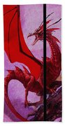 Dragon Power-featured In Comfortable Art Group Bath Towel