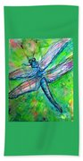 Dragonfly Spring Hand Towel