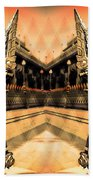 Dragon's Temple Bath Towel