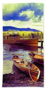 Dramatic Derwent Bath Towel