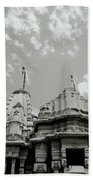 The Jain Temples Bath Towel