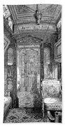 Drawing-room Car, 1869 Bath Towel