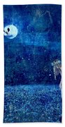 Dreaming In Blue Bath Towel
