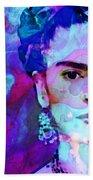 Dreaming Of Frida - Art By Sharon Cummings Bath Towel