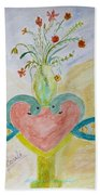 Dreamy Heart Bath Towel