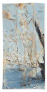 Driftwood Abstract Hand Towel