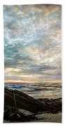 Driftwood Sunset Bath Towel