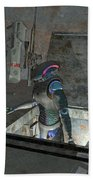 Droid Discovering A Weapons Cache Bath Towel