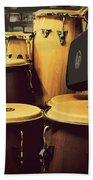 Drum Beat Bath Towel
