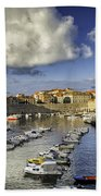 Dubrovnik Harbor Bath Towel