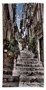 Dubrovnik Streets 6 Bath Towel