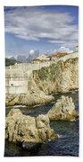 Dubrovnik Walled City Bath Towel
