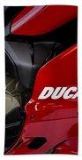 Ducati-unplugged V9 Bath Towel