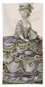 Duchess Evening Gown, Engraved Bath Towel