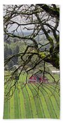 Dundee Hills Wine Country Bath Towel